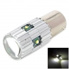 1156 15W 800lm White LED Light Car Backup / Steering / Tail Lamp w/ 5-Cree XP-E - Silver (DC 12~15V)