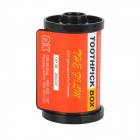 33417 Kreative Photographic Film Style Toothpick Holder - orangerot