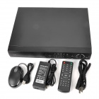 Loosafe LS-R3016 16-CH BNC Network DVR Digital Video Recorder w/ USB / LAN / VGA / RS485 - Black