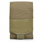 Protective Oxford Fabric Cellphone Bag for Iphone Series - Tan