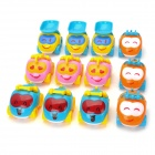 BAIYUAN BY-680 Funny QQ Engineering Team Inertia Car Vehicle Toys (12 PCS)