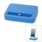 Stylish Sync and Charging Docking Station for iPhone 5 - Dark Blue