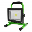 L20 Waterproof 20W 1300lm 6000K LED White Light Rechargeable Camping Engineering-Lamp - Green