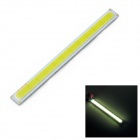 DIY 6W 630lm 6000K COB LED Rectangle Strip (DC 12~14V)