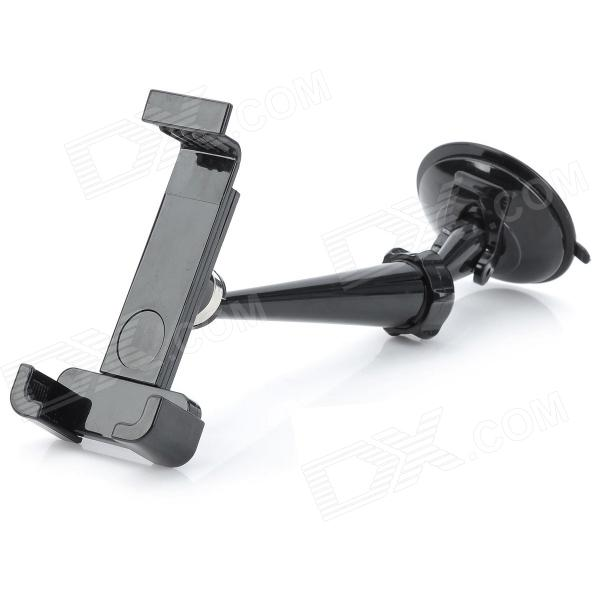 Suction Cup Style 360 Degree Rotatable Car Mount Holder for Iphone 4 / 4S - Black 360 degree rotatable motorcycle mount holder w waterproof bag for iphone 4 4s black