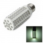 E27 6.5W 700lm 108-LED White Light Corn Bulb - White (220V)