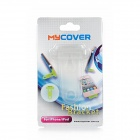 Mini 30-Pin Connector Plastic Stand Holder for Iphone 4 / 4S / Ipad - Translucent White