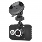 "GS6000 A2S60 2.7"" TFT CMOS Wide Angle Car DVR Camcorder w/ G-sensor / HDMI - Black"