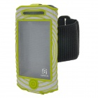BASEUS AWAPIH4S-06 Outdoor Sport Protective Fabric Armband for iPhone 4 / 4S - Green