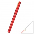 (VR) Pocket Pen Style Fishing Rod and Reel Kit - Red + Golden (Extended Length 100cm) 