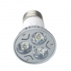 E27 3W 240lm 3-LED Cool White Light Bulb