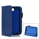 Protective PU Leather Case for Samsung Galaxy Note 8.0 N5110 - Dark Blue