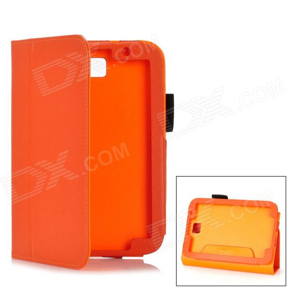 Protective PU Leather Case for Samsung Galaxy Note 8.0 N5110 - Orange