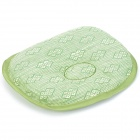 HQS-G786 Natural Raffia Baby Shaping Cool Pillow - Green