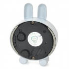 Cute Rabbit Shape Mini Desktop Clock - White + Black + Deep Pink (1 x LR44)