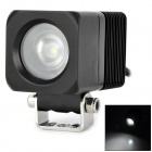 LML-0810 10W 900lm 1-Cree LED White Light Working Indicator Lamp - Black (DC 10~30V)