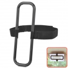 CY776 Round Rectangle Shape Hanging Car Visor / Seat Back Tissue Paper Box Holder - Black