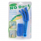 Detachable Washable Brush Shutter Air Conditioner Duster Cleaning Clip Cleaner - Blue