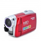 "ODEM HD-k70 3.0"" LCD 5.0MP CMOS Digital DV - Red"