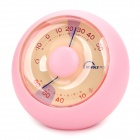 Mingle Desktop Household Thermometer / Hygrometer - Pink