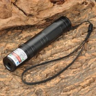850 5mW Green Laser Pointer Flashlight w/ 2-Flat-Pin Plug - Black (1 x 16340 / 1 x CR123A)