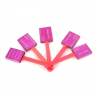 Magnetic Magnet Rod Stick Board for Magical Nail Polish - Deep Pink + Orange (5 PCS)