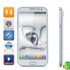 "THL W7 WCDMA android 4.0 smartphone w / 5.7"" écran capacitif, wi-fi, GPS et double-sim - blanc"