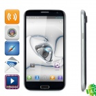 "THL W7 WCDMA Android 4.0 Bar Phone w/ 5.7"" Capacitive Screen, Wi-Fi, GPS, Dual-SIM and 8.0MP - Black"