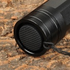 850 5mW Red Laser Pointer Flashlight w / Plug 2-Flat-Pin - preto (1 x 16340/1 x CR123A)