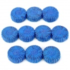 Xige XG-632 Bathroom Toilet Fragrant Cleaning Soaps / Detergents / Cleaners - Blue (10 PCS)
