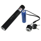 5mW 532nm Gypsophila Green Laser Pointer w / 18650 Akku / laturi