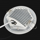 Round Shaped 12W 1080lm 3500K Warm White LED Panel Light - White (89~265V)