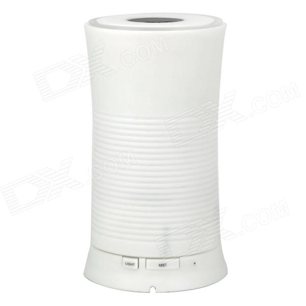 fea-J83A Ultrasonic Air Humidifier w/ EU Power Plug + Cup - White