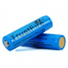TrustFire Protected 14500 3.7V 900mAh Lithium Batteries (2-Pack Blue)