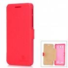 NILLKIN Fresh Protective Flip-Open Artificial Leather + PC Case w/ Magnet for Huawei U8950D - Red
