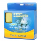 Twinmask MT-90 Mini GPS Tracker for Elder + Kids + Pets - Yellow