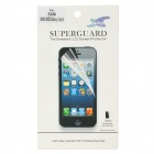 Protective PET Clear Screen Film Guard w/ Cleaning Cloth for Samsung i9082 - Transparent