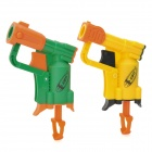 Beiduoli BL12103 Plastic Gun + Sponge Bullet + Target Board for Kids - Yellow + Green + Orange