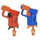 Beiduoli BL12103 Plastic Gun + Sponge Bullet + Target Board for Kids - Blue + Red