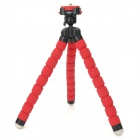 Fotopro RM-100 Octopus Shape Flexible Plastic Sponge Tripod for Camera - Red + Black