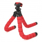 Fotopro Octopus Shape Flexible Plastic Sponge Tripod for Camera - Red + Black