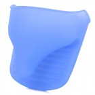 YJ3-115 Heat Shielding Soft Rubber Microwave Glove - Blue