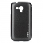 ROCK Protective Plastic Back Case for Samsung i8262 - Black