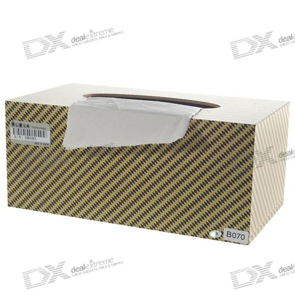 Rechargeable Pin-hole Spy Tissue Box Wrap Video Camera with Wireless Remote (4GB)