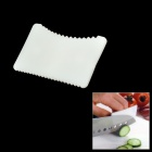 Vegetable / Fruit Knife Cutting Hand Finger Guard Protector - White