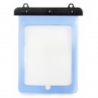 ABS280-210 Protective PVC Waterproof Bag w/ Strap for Ipad MINI / Ipad / Ipad 2 - Transparent Blue