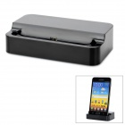 Multi-Function Charging Dock w / Datenkabel für Samsung Galaxy Note i9220 / Note II N7100 - Schwarz