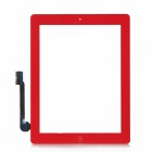 Replacement Touch Screen Digitizer Module w/ Home Button Assembly for the New iPad - Red