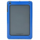 Stylish Protective Bumper Frame for iPad Mini - Dark Blue + Black