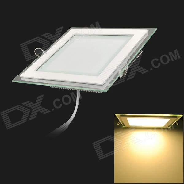 12W 980lm 3200K Warm White Light Square Ceiling Lamp w/ LED Power Supply (110~240V) мёд суфле peroni маргарита с клубникой 30 мл